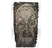 """Charlie"" Etching Plate Poster"