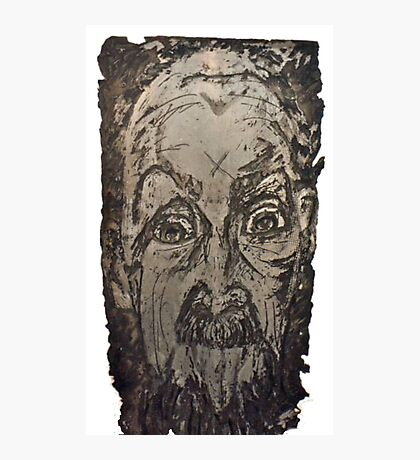 """""""Charlie"""" Etching Plate Photographic Print"""