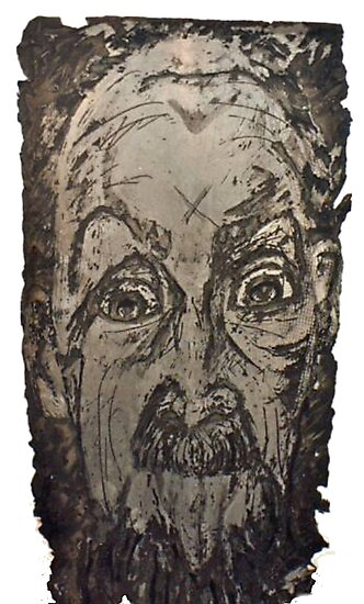 """""""Charlie"""" Etching Plate by DreddArt"""