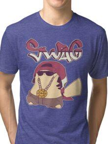 Swagachu Pikaswag Thugachu Tri-blend T-Shirt