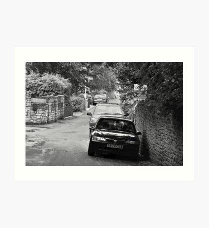 Narrow Lanes Art Print
