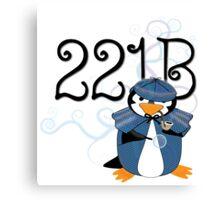 Sherlock Penguin Canvas Print