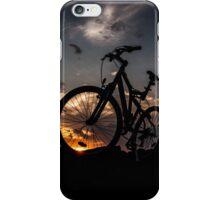 muountain biking iPhone Case/Skin