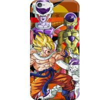 Dragon Ball Z Goku Fighting Frieza iPhone Case/Skin