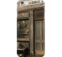 Australian Pioneer village Tobacconist iPhone Case/Skin