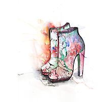 Mary Katranzou Shoes Photographic Print