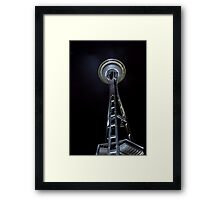 Space Base Framed Print