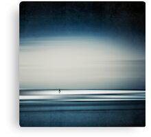 sea and surfer Canvas Print