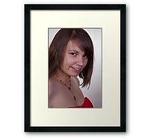 Alaina Framed Print