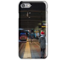 Waiting for the Train iPhone Case/Skin