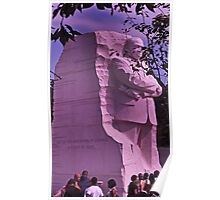 A stone of hope - Dr. Martin Luther King, Jr. Poster