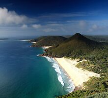View from Tomaree Headland @ Shoal Bay, NSW, Australia by maysun