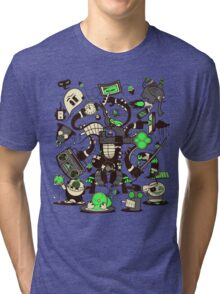 Capers, Schemes, Plans, & Scams Tri-blend T-Shirt