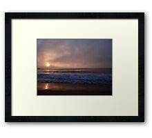 A Different Kind of Sunrise Framed Print