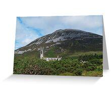 St John's Church and Errigal Mountain Greeting Card