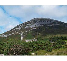 St John's Church and Errigal Mountain Photographic Print