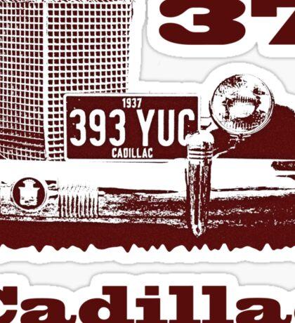 1937 Cadillac Sticker