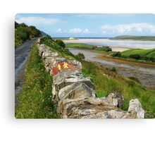 Maghera Strand and Laughros Beg Bay Canvas Print