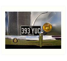 1937 Cadillac Art Print