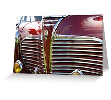 Classic car - 1941 Plymouth Greeting Card