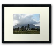 Cloud over Muckish Mountain Framed Print