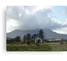 Cloud over Muckish Mountain Metal Print