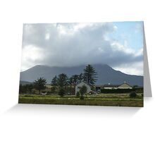 Cloud over Muckish Mountain Greeting Card