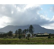 Cloud over Muckish Mountain Photographic Print