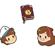 Gravity Falls 1 by toifshi