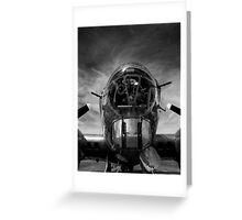 B-17 Greeting Card
