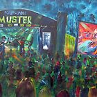 30th Gympie Muster Main Stage 2011 by robert (bob) gammage