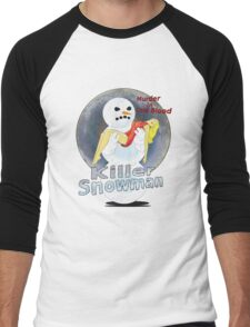 killer snowman Men's Baseball ¾ T-Shirt