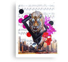 Eye of my tiger Metal Print