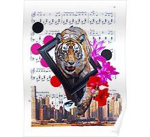 Eye of my tiger Poster