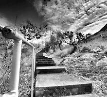 stairway by Matthew Larsen