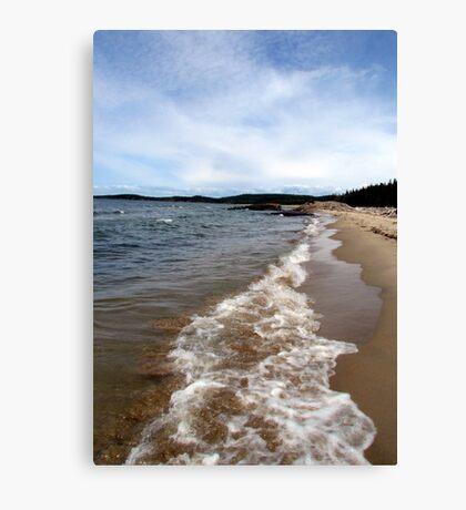 North Beach - Pukaskwa National Park - Heron Bay, Ontario Canada Canvas Print