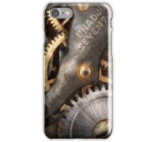 Steampunk - Gears - Horology iPhone Case/Skin