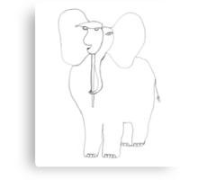 danimal's bestiary: elephant Metal Print