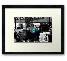 Talk-Talk Framed Print