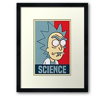 Rick and Morty - Science Framed Print