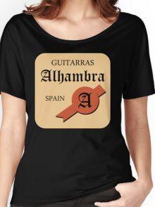 Guitarras Alhambra Spain Women's Relaxed Fit T-Shirt