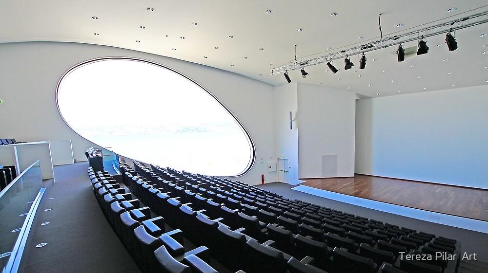 Champalimaud Centre for the Unknown. Amphitheatre by terezadelpilar ~ art & architecture