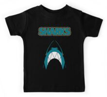 In the Jaws of the Sharks Kids Tee
