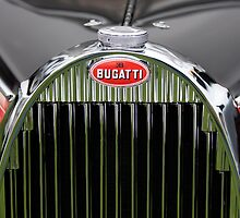 1939 Bugatti Type 57 Galibier Sports Saloon Hood Emblem by Jill Reger