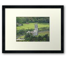 Church with no roof Framed Print