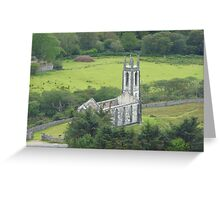 Church with no roof Greeting Card