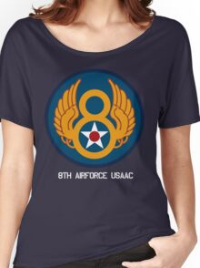 8th Airforce Emblem  Women's Relaxed Fit T-Shirt