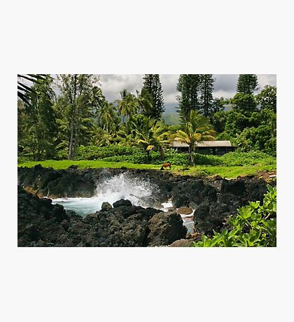 A Little Piece of Paradise Photographic Print