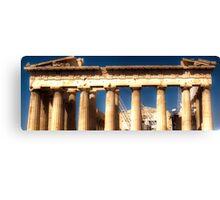 Acropolis HDR Canvas Print