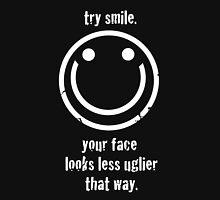 try smile Unisex T-Shirt
